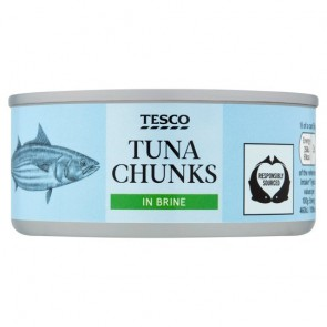 Tesco Tuna Chunks Chunks In Brine 160G