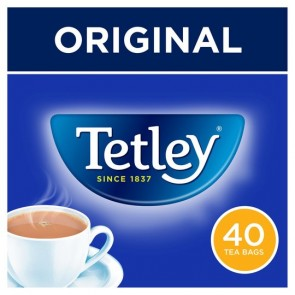 Tetley 40 Teabags 125G