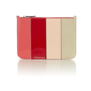 Therapy Rosie Stripe Clutch Bag.