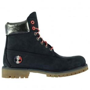 Timberland 6 Inch Premium Boots - Black/Grey.