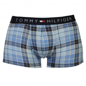 Tommy Hilfiger Stripe Trunk - Blue Check.