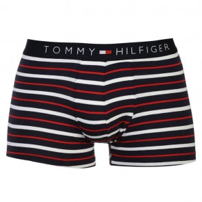 Tommy Hilfiger Stripe Trunk - Navy/White/Red.