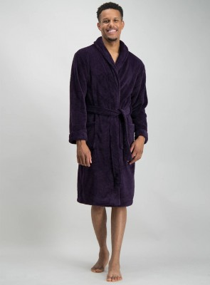 Online Exclusive Purple Wellsoft Dressing Gown