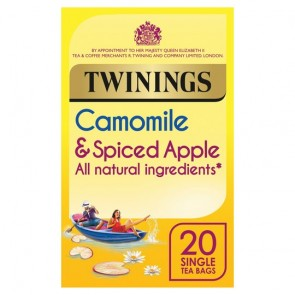 Twinings Chamomile & Spiced Apple 20 Teabags 25G
