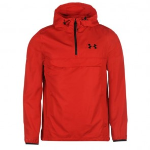 Under Armour Sportstyle Anorak Mens - Red.