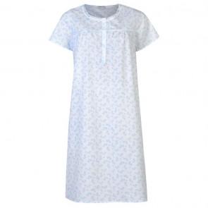 Value Short Sleeve Nightie Ladies - Blue.