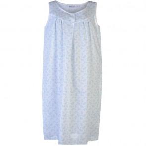 Value Short Sleeveless Nightie Ladies - Blue.
