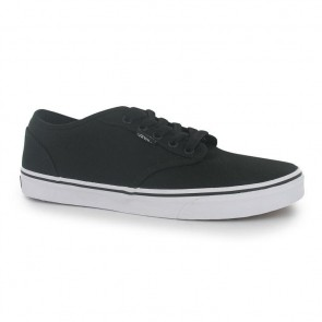Vans Atwood Canvas Trainers - Black/White.