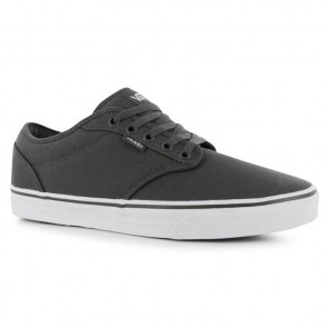 Vans Atwood Canvas Trainers - Grey/White.