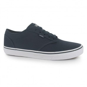 Vans Atwood Canvas Trainers - Navy/White.