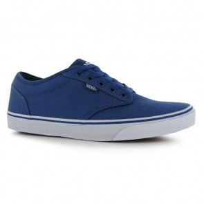Vans Atwood Canvas Trainers - STV Navy/White.