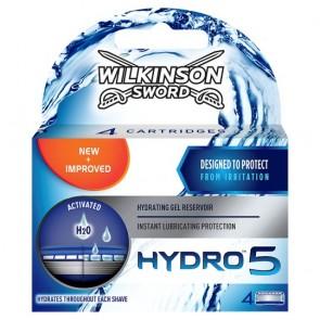 Wilkinson Sword Hydro 5 Razor Blades 4 Pack.
