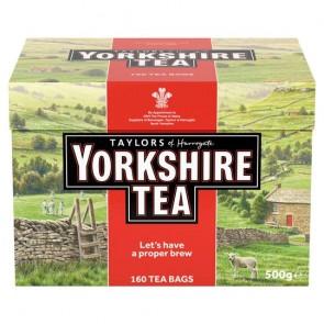 Yorkshire 160 Teabags 500G