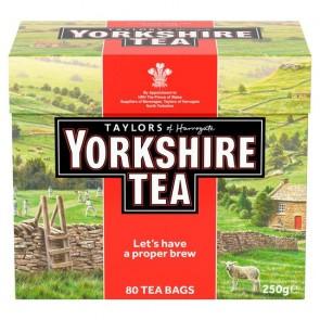 Yorkshire 80 Teabags 250G