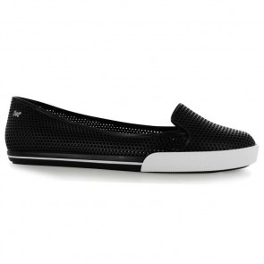 Zaxy City Mesh Ladies Shoes - Black.